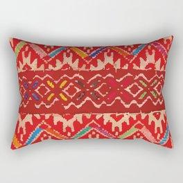 Tela Chiapaneca fabric Rectangular Pillow