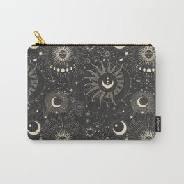 Sun and moon astrology pattern Carry-All Pouch