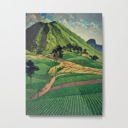 Crossing people's land in Iksey Metal Print