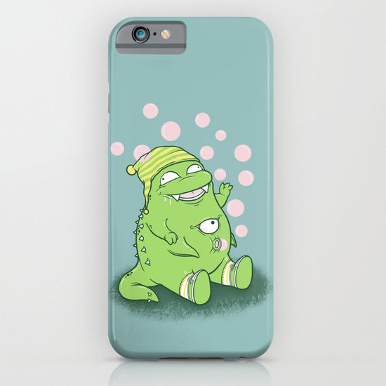 Happy Green Monster iPhone & iPod Case