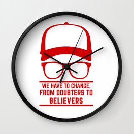 Jurgen Klopp YNWA Liverpool   the normal one   Liverpool soccer team tshirt (liverpool apparel) Wall Clock