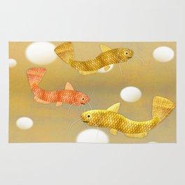 Toy Catfish (Gold) Rug