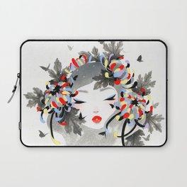 Chrysanthemum Mood Laptop Sleeve