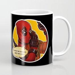 Crime's the disease  Coffee Mug