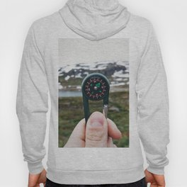 Find the route up in the mountain Hoody