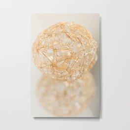 Soft Sphere Metal Print