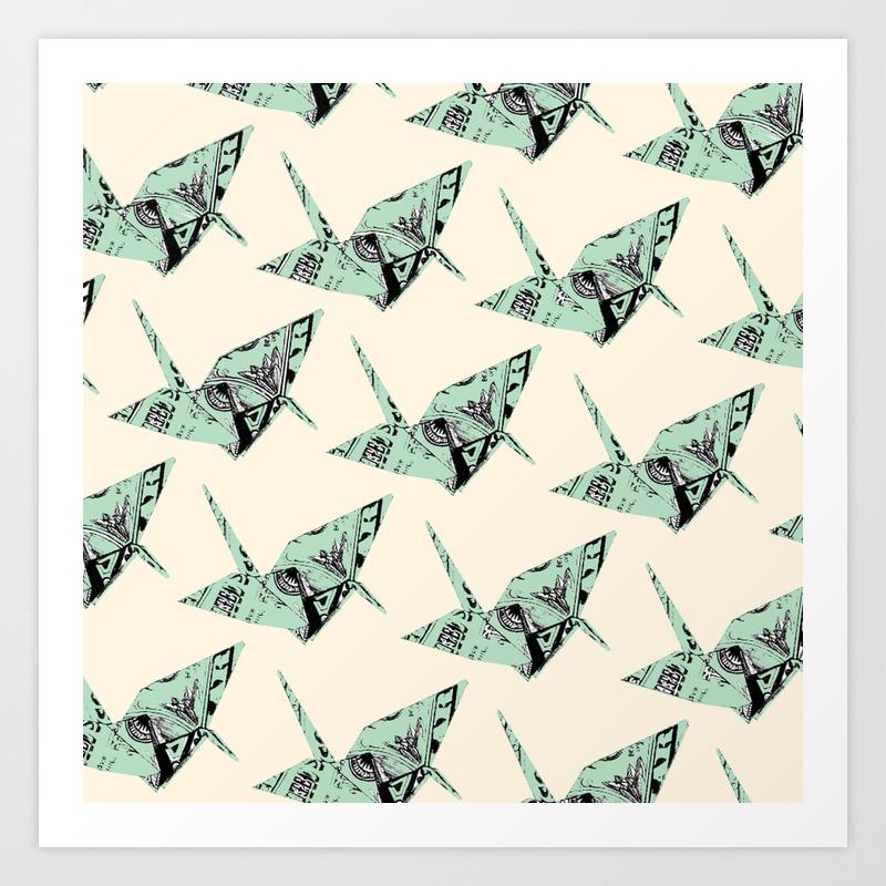 Dollar Bill Butterfly Origami Tutorial | 1500x1500