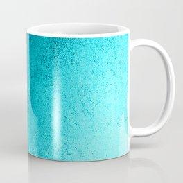 Modern abstract navy blue teal gradient Coffee Mug