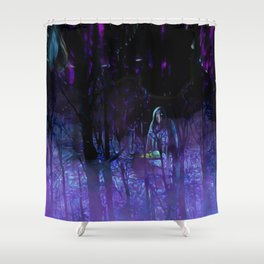 The Witches Haunt Shower Curtain