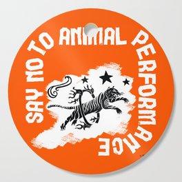 Say NO to Animal Performance – Tiger jump Cutting Board