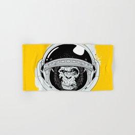 Monkey in white space Hand & Bath Towel