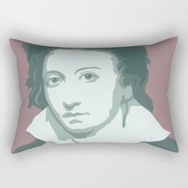 Percy Bysshe Shelley Rectangular Pillow