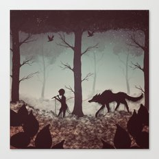 Wolf Parade Canvas Print