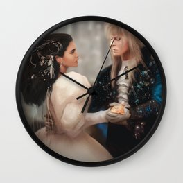 Labyrinth of Love (Digital Drawing) Wall Clock