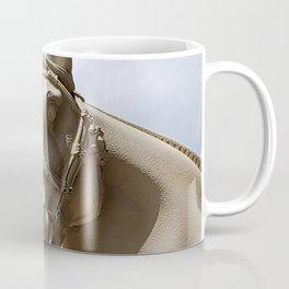 Stone Horse Head 2 Coffee Mug