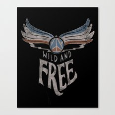 Peace Wings Canvas Print
