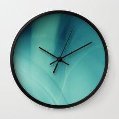 Underwater - Deep Blue Sea (abstract) Wall Clock