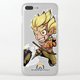 Junkrat Chibi Fanart Clear iPhone Case