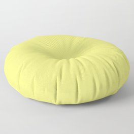 neapolitan yellow Floor Pillow