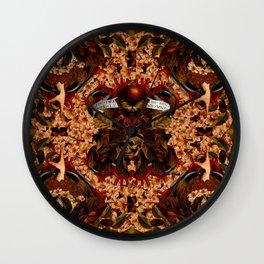 Omnia vanitas Wall Clock
