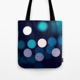 Abstract city lights Tote Bag