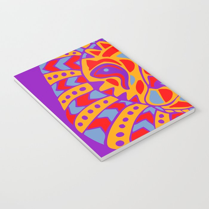 Abstract Lion Design #8 Notebook