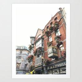Dublin  Art Print