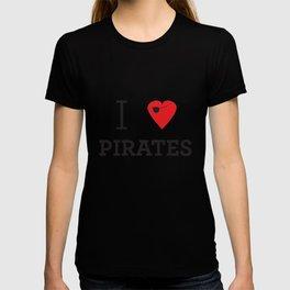 I heart Pirates T-shirt