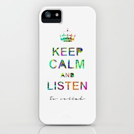 Listen To Sellah  iPhone Case