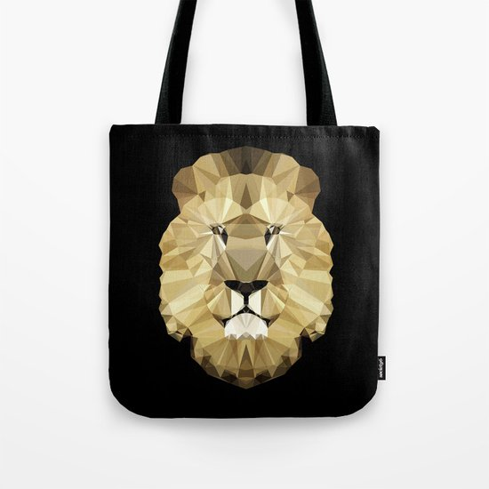 Polygon Heroes - The King Tote Bag