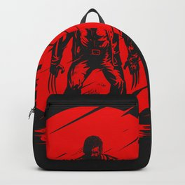 Logan Red Sunset Backpack