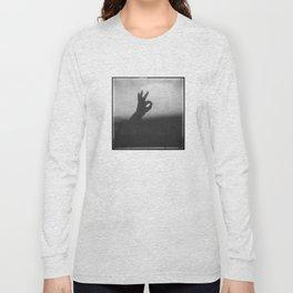 OK (B&W) Long Sleeve T-shirt