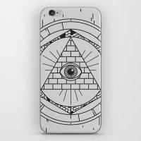 illuminati iPhone & iPod Skins featuring Illuminati by Joao Paulo Cruz