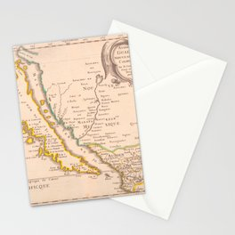 Audience de Guadalajara, Nouveau Mexique, Californie, &c Stationery Cards