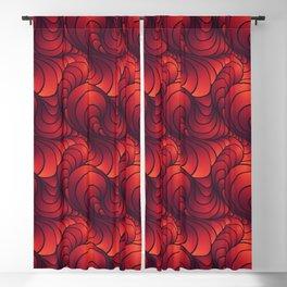 Swirl Sunset Blackout Curtain