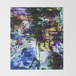 abstract painting 7b Throw Blanket