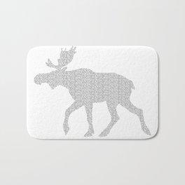 Moose Code Bath Mat