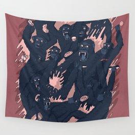 Ape Craze Wall Tapestry