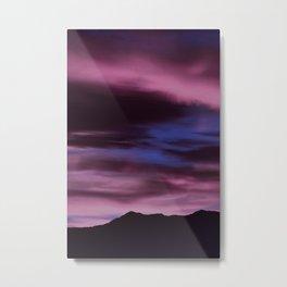 SW Rose Quartz Sunrise Metal Print