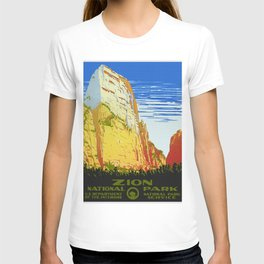 Zion National Park - Vintage Travel T-shirt