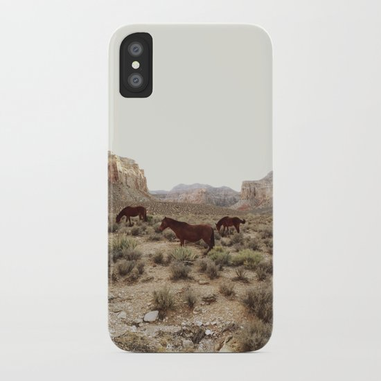 Hualapai Hilltop Horses iPhone Case