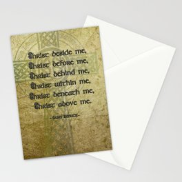 Christ Before Me ~ St. Patrick Stationery Cards