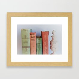 Wuthering Heights and Jane Eyre Framed Art Print