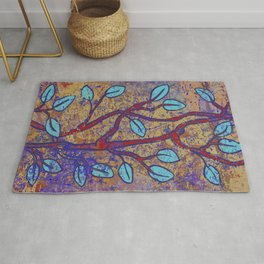 Branches and leaves Rug