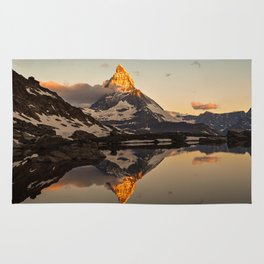Swiss Alps Journey Rug