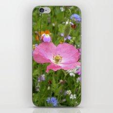 pink poppy IX iPhone & iPod Skin