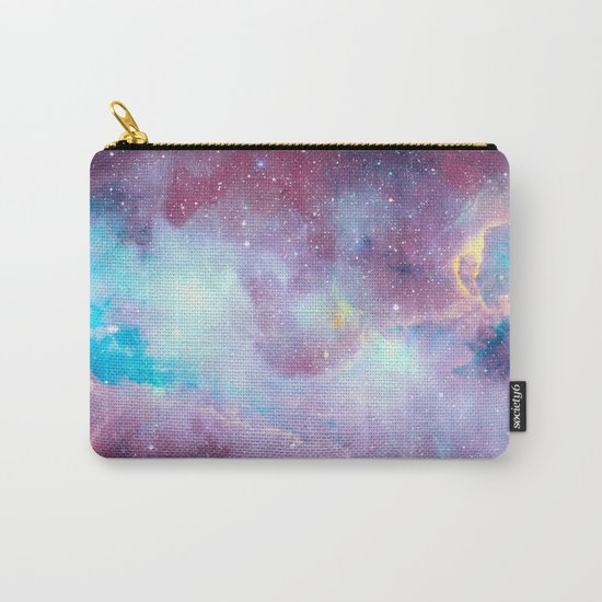Quartz & Turquoise Galaxy Carry-All Pouch