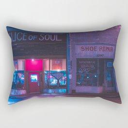 Slice - Memphis Photo Print Rectangular Pillow