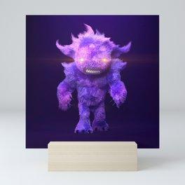 Furry Beast Mini Art Print