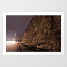 The Highway Art Print